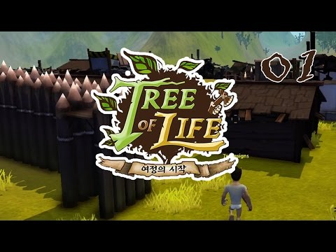 Tree of Life [MMORPG] :: Ep. 01 - Time to Build Up & Destroy!