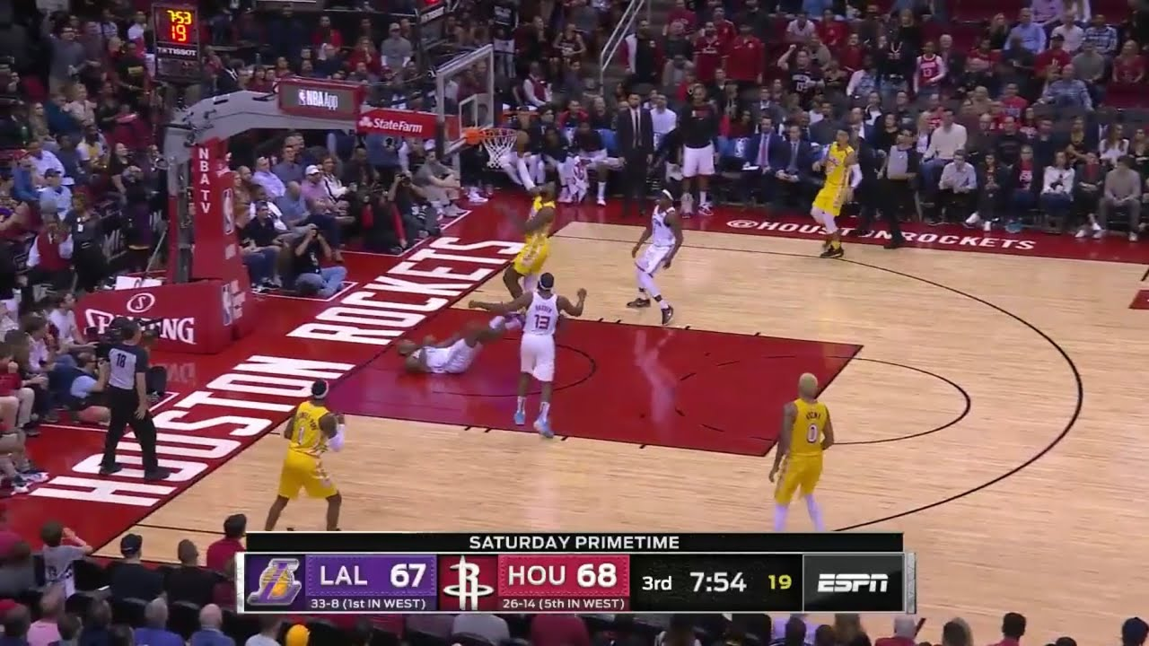 Los Angeles Lakers vs Houston Rockets | Full Game ...