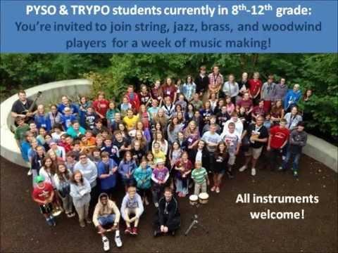 TRYPO PYSO Chautauqua Music Camp 2015