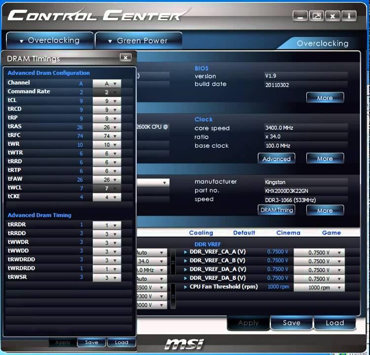 MSI 870S-C45 OverClocking Center Drivers Mac