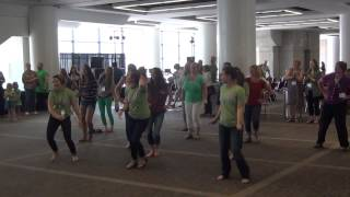 Mennonite Women USA FLASH MOB at #KC2015