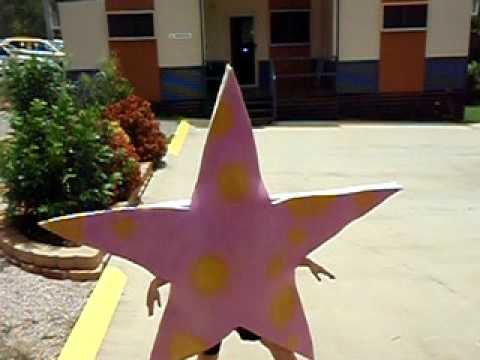 My Starfish Costume!