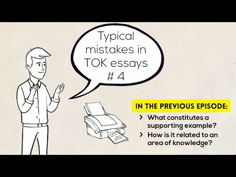 Typical mistakes in TOK essays #4 Psychology versus TOK