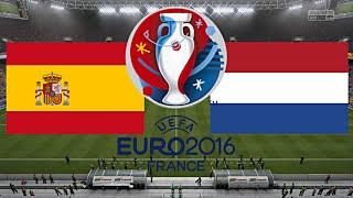 SPANIEN gegen NIEDERLANDE - EM 2016 FRANKREICH (Gruppenphase 3.Spieltag) ◄ESP #06►
