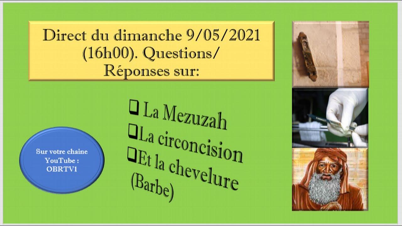 Etude sur la Mezuza(Sha'ar) et la circoncision Partie 1