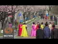 Ordinary North Koreans unfazed by Trump