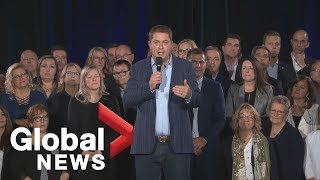 Canada Election: Andrew Scheer attends rally in Drummondville, Que. | LIVE