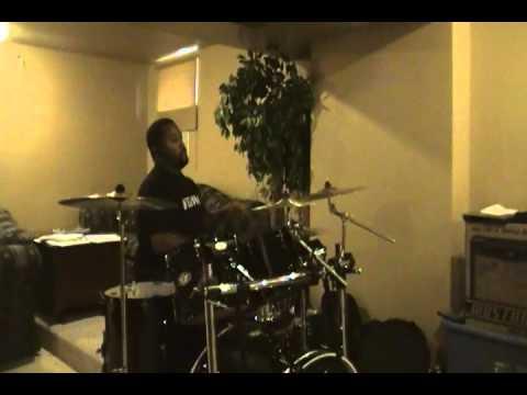 Alicia Keys ft  Eve   speechless drum cover Krash