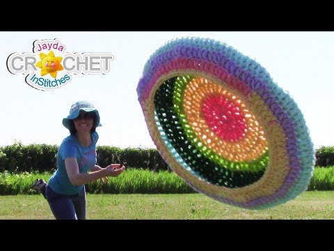 Flying Disc Crochet Pattern – Let's PLAY!