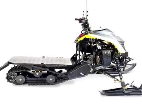 Первый разборный снегоход Cronus TT 200 P