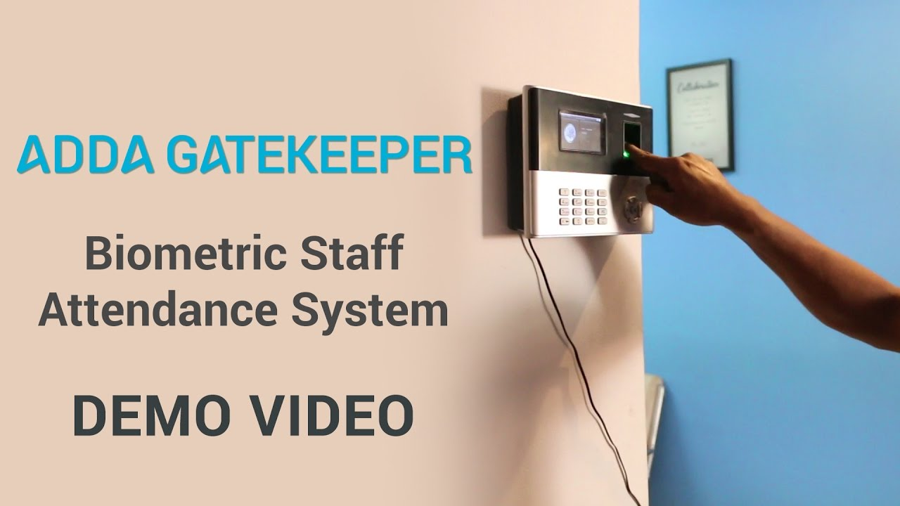 ADDA: Biometric Staff Attendance System Demo