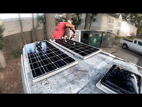 Building a Solar Powered Camper Van | DIY Off Grid Solar Explained