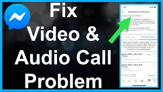 FIX Messenger Video & Voice Call Problem! screenshot 5