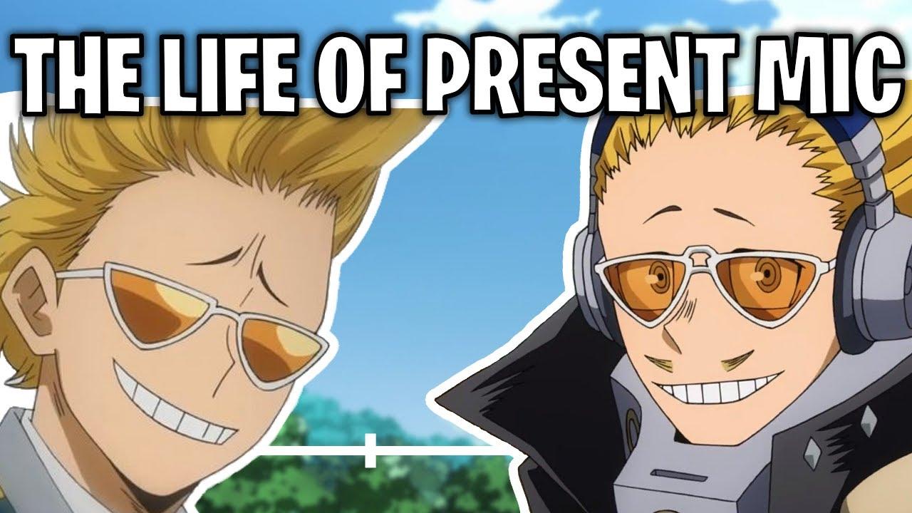 The Life Of Hizashi Yamada: Present Mic (My Hero Academia)
