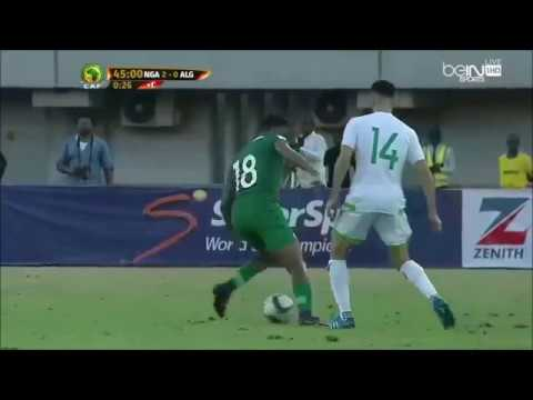 Alex Iwobi's rainbow flick vs. Algeria