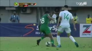 Alex Iwobi's rainbow flick vs. Algeria