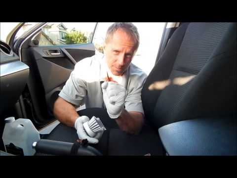 Car upholstery cleaning: Special fabrics, Special Tips
