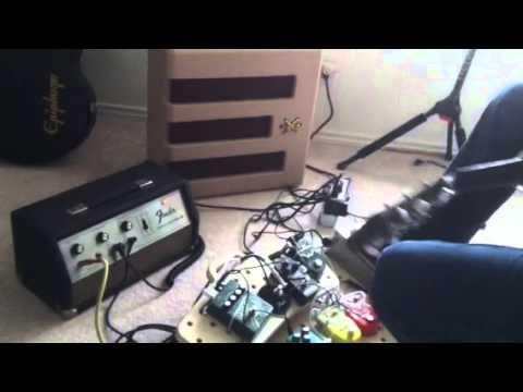 Vintage Fender Fuzz Wah + Echo Reverb III + Excelsior Pro Amp