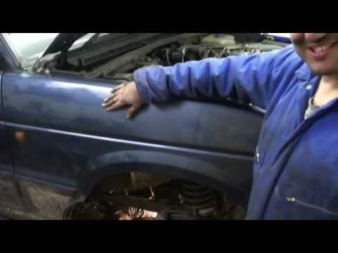 How to remove a Land Rover Discovery gearbox, the VERY PROFESSIONAL