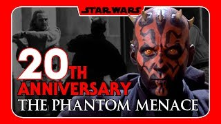 Star Wars The Phantom Menace - Celebrating 20 Years With Friends!
