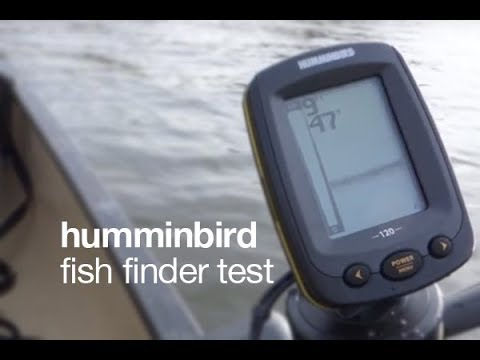 Humminbird 120 Fish Finder Test