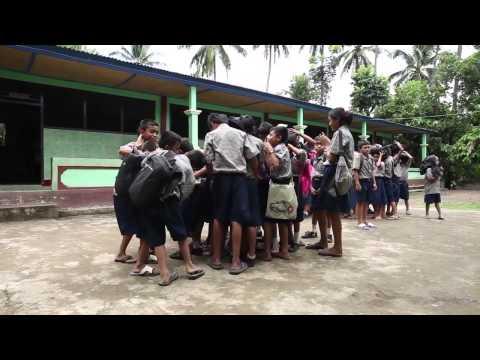 Sekolah School and Disaster Risk Reduction English subtitle