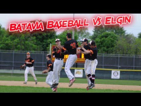 Batavia Baseball vs Elgin 2016