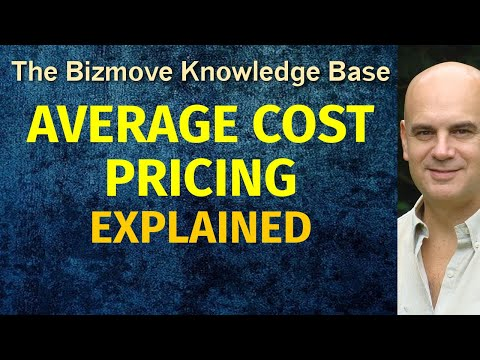 Average Cost Pricing Explained   Management & Business Concepts