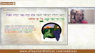 Solomon- a wise man of peace or a sinner. part 2. Biblical Hebrew Webinar by eTeacherBiblical.com