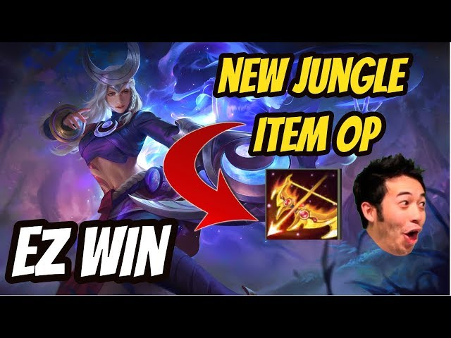 LINDIS SOLO CARRY NEW JUNGLE ITEM OP | Darkbreaker | Arena of Valor