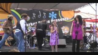 10 year old Grace Slick Jr Maya Burns sings White Rabbit