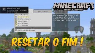 RESETAR O FIM !? - TU 46 - MINECRAFT CONSOLE