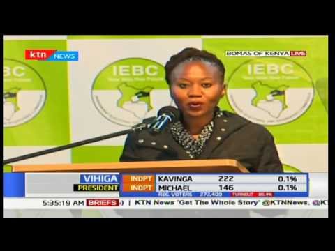 The latest IEBC updates - 5:40AM 10/8/2017