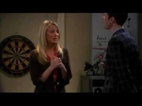 Sheldon Gives Penny The Moving Finger - The Big Bang Theory