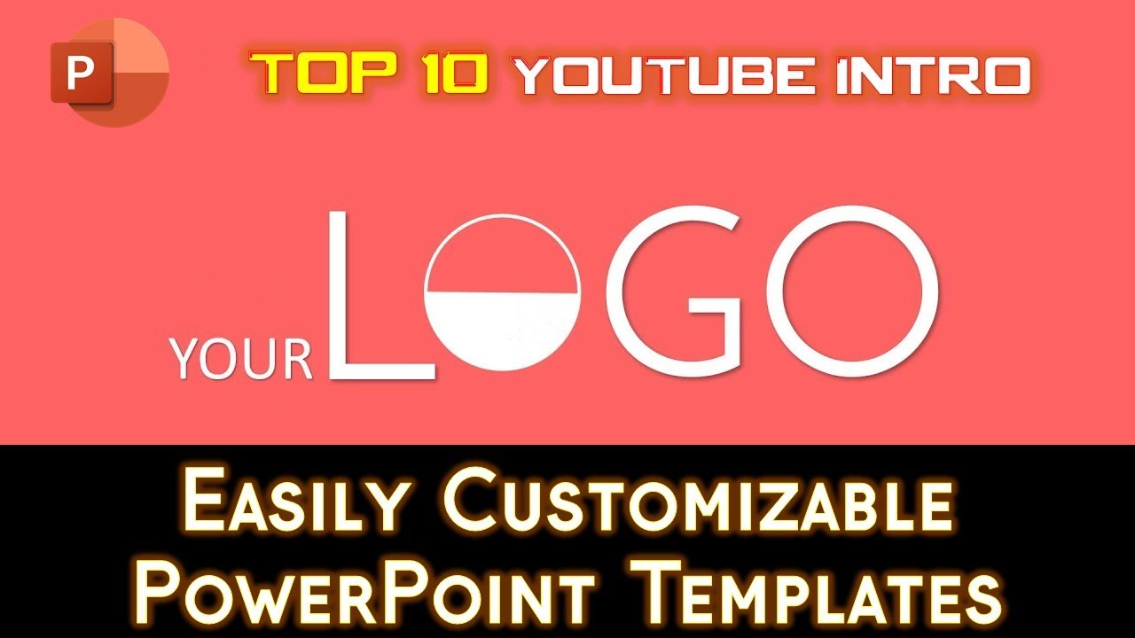 top 10 best free 2d youtube intro templates powerpoint 2016 templates the teacher youtube