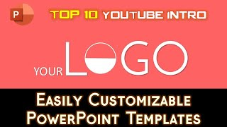 Top 10 Best Free 2D Youtube Intro Templates   PowerPoint 2016 Templates   The Teacher