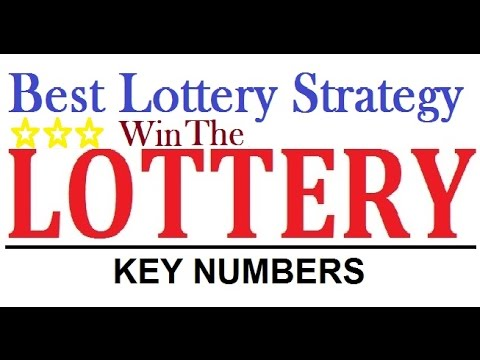 Best lottery strategy to win the jackpot everytime - The Key Number