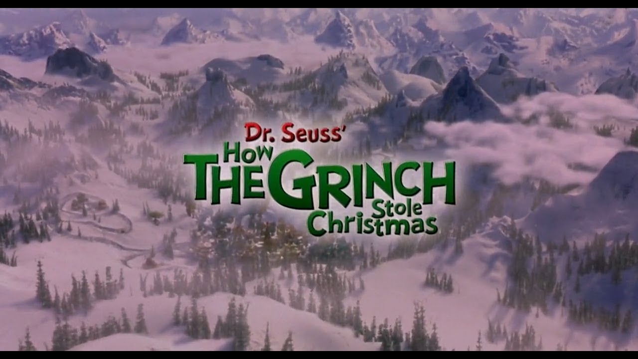 Jim Carrey How The Grinch Stole Christmas Hilarious Scenes