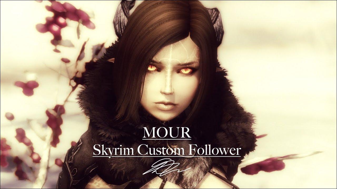 Mour - Custom Follower for Skyrim - Voice Demo