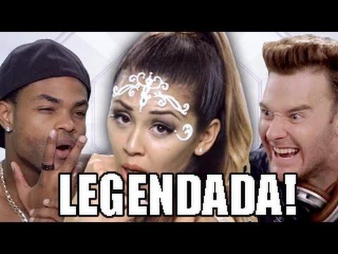 Ariana Grande ft. Zedd - Break Free PARODY (Paródia - Legendada PT-BR) [Bart Baker]