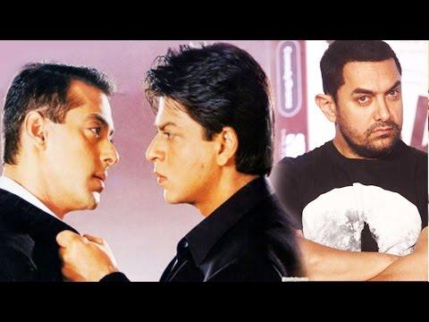 The Fight Between SRK, Salman Khan And Aamir Khan!