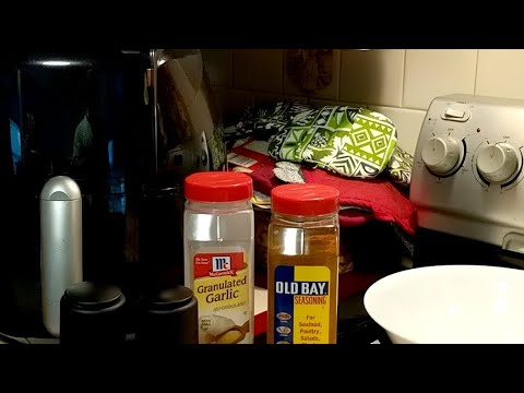 LiVE! GoWISE USA Air Fryer First Use Again Plus Old Bay Seasoning
