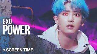 Video EXO - Power : Screen Time Distribution (Color Coded) download MP3, 3GP, MP4, WEBM, AVI, FLV Agustus 2018