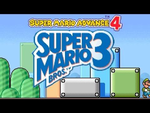 Super Mario Advance 4 (Mario 3) Gameboy Advance Full Playthrough