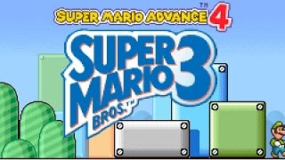 Super Mario Advance 4 (Mario 3) Gameboy Advance Full Playthrough