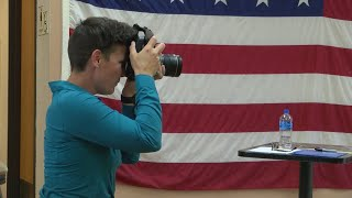 New Mexico veterans share stories in traveling portrait project
