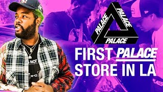 FIRST PALACE STORE IN LA - GRAND OPENING VLOG