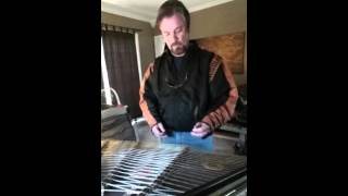 EVERYBODY WANTS TO RULE THE WORLD on hammered dulcimer