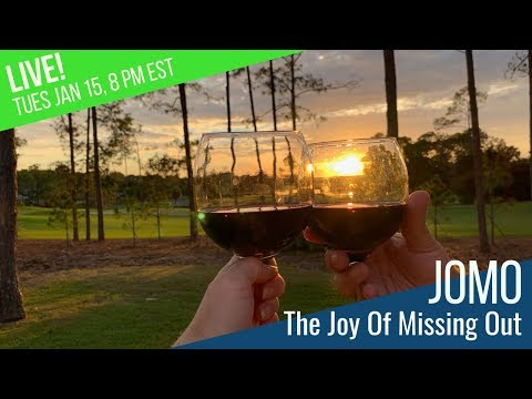Learning to Embrace JOMO - The Joy of Missing Out