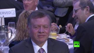 العاهل الأردني عبد الله الثاني وقرينته رانيا يحضران فعاليات